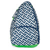 ALL FOR COLOR Nautical Tide Tennis Backpack