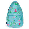 ALL FOR COLOR Island Time Tennis Backpack