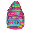 ALL FOR COLOR Aztec Tennis Backpack