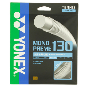 Monopreme 130 Tennis String White