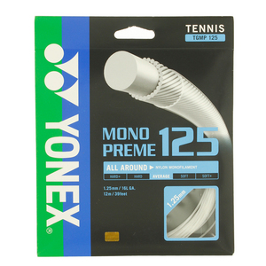 Monopreme 125 Tennis String White
