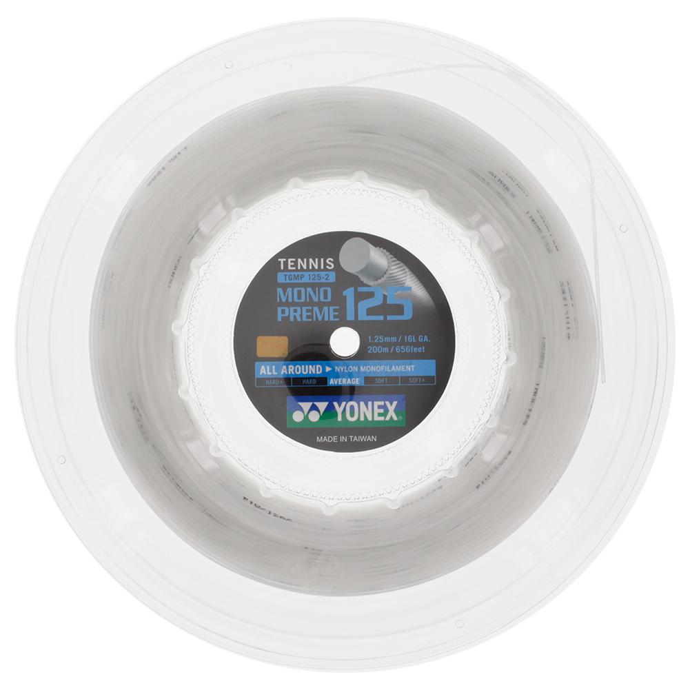Monopreme 125 Tennis String Reel White