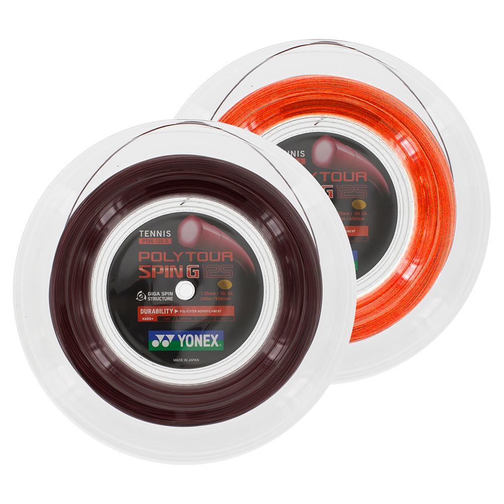Polytour Spin G 125 Tennis Reel String