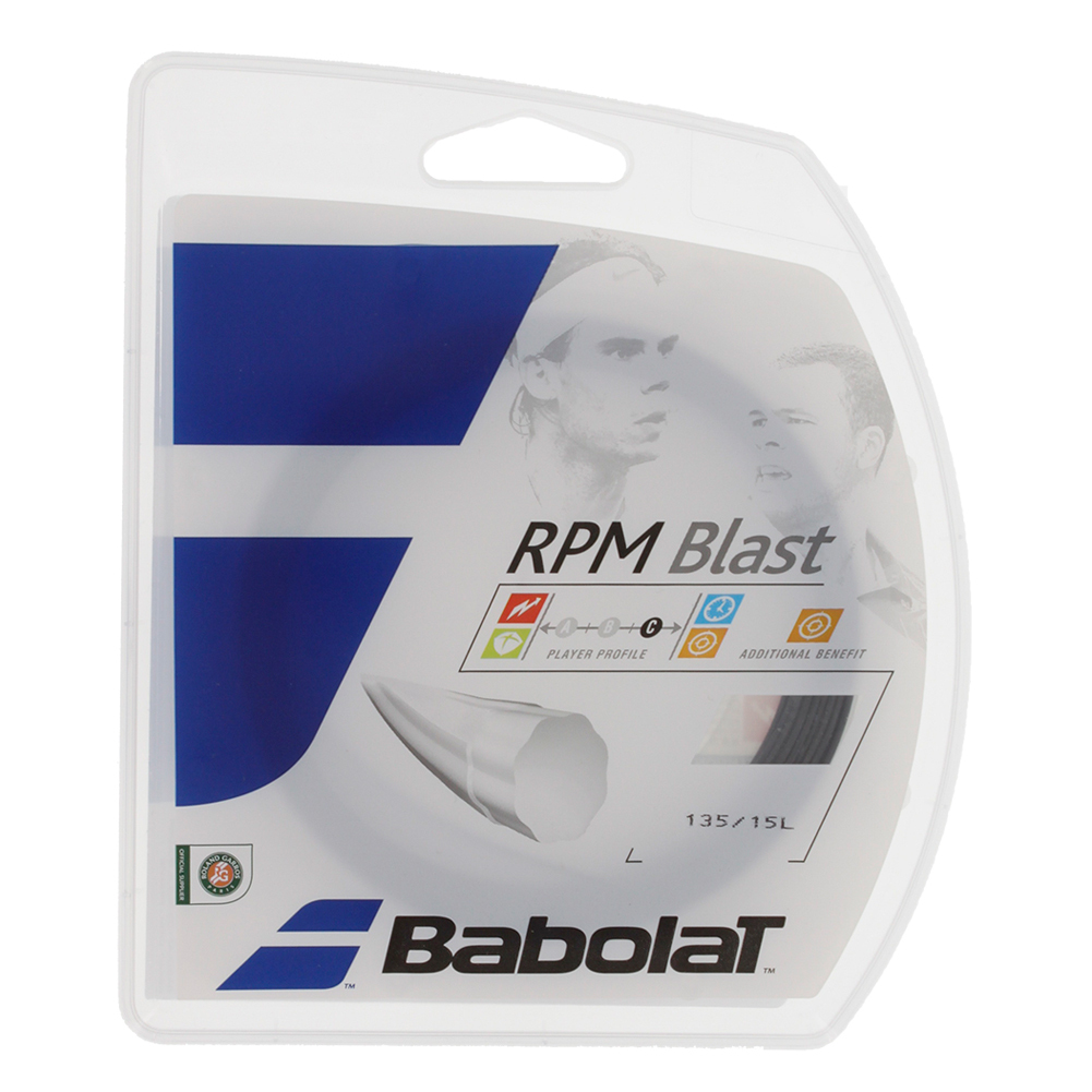 Rpm Blast 15l Tennis String Black