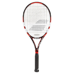 E-Sense Comp Pre-Strung Tennis Racquet Red and Black