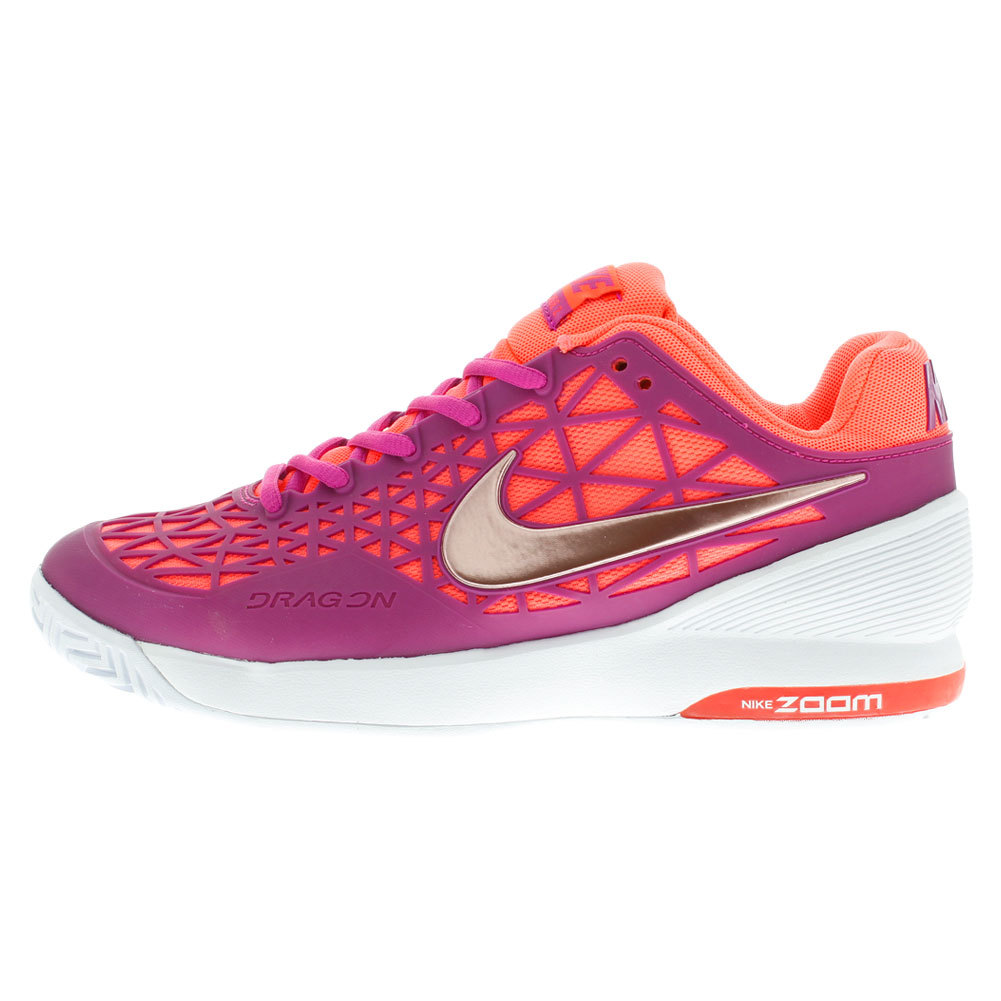Nike Zoom Courtlite  White Pink Womens Tennis Shoes