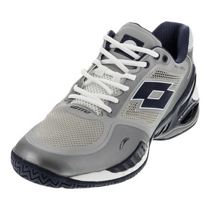 Men`s Raptor Evo Speed Tennis Shoes Metal Silver and Aviator