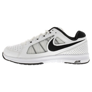 NIKE MENS AIR VAPOR ACE TENNIS SHOES WHITE/BK