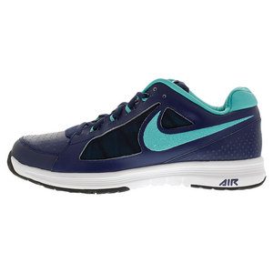 Men`s Air Vapor Ace Tennis Shoes Midnight Navy and Light Retro
