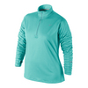 NIKE Women`s Element Half-Zip Top Light Aqua
