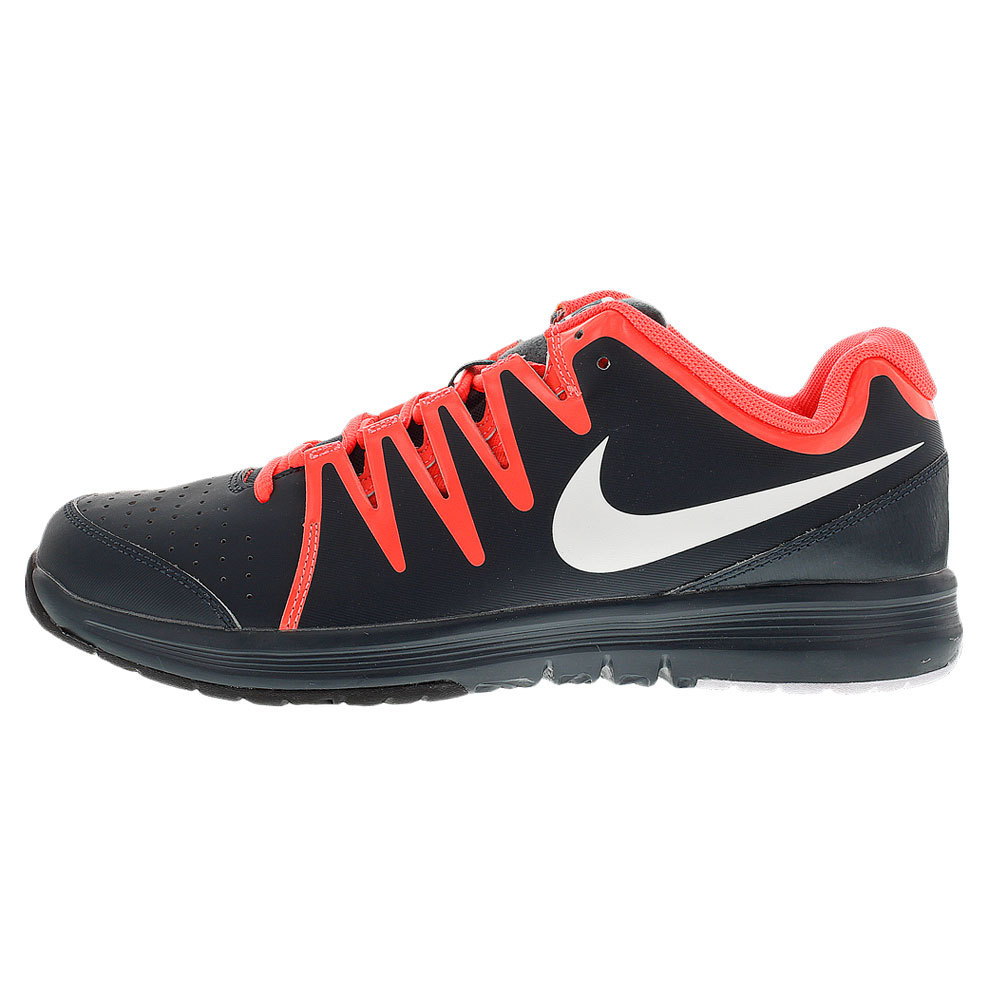 nike s vapor court tennis shoes classic charcoal and