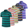Men`s Sphere Stripe Tennis Polo by NIKE