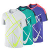 NIKE Men`s Team Court Graphic Tennis Crew