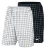 NIKE Men`s Court Plaid 9 Inch Tennis Short