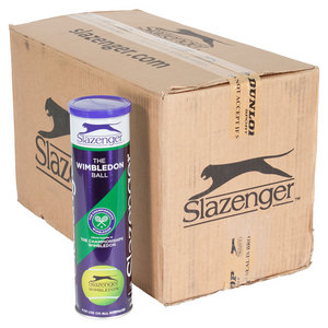 Slazenger Wimbledon 4 Tennis Ball Case