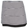 BOLLE Women`s 14 Inch Tennis Skort White and Black