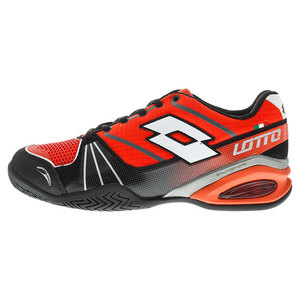 Men`s Stratosphere Speed Tennis Shoes Red Warm and Black