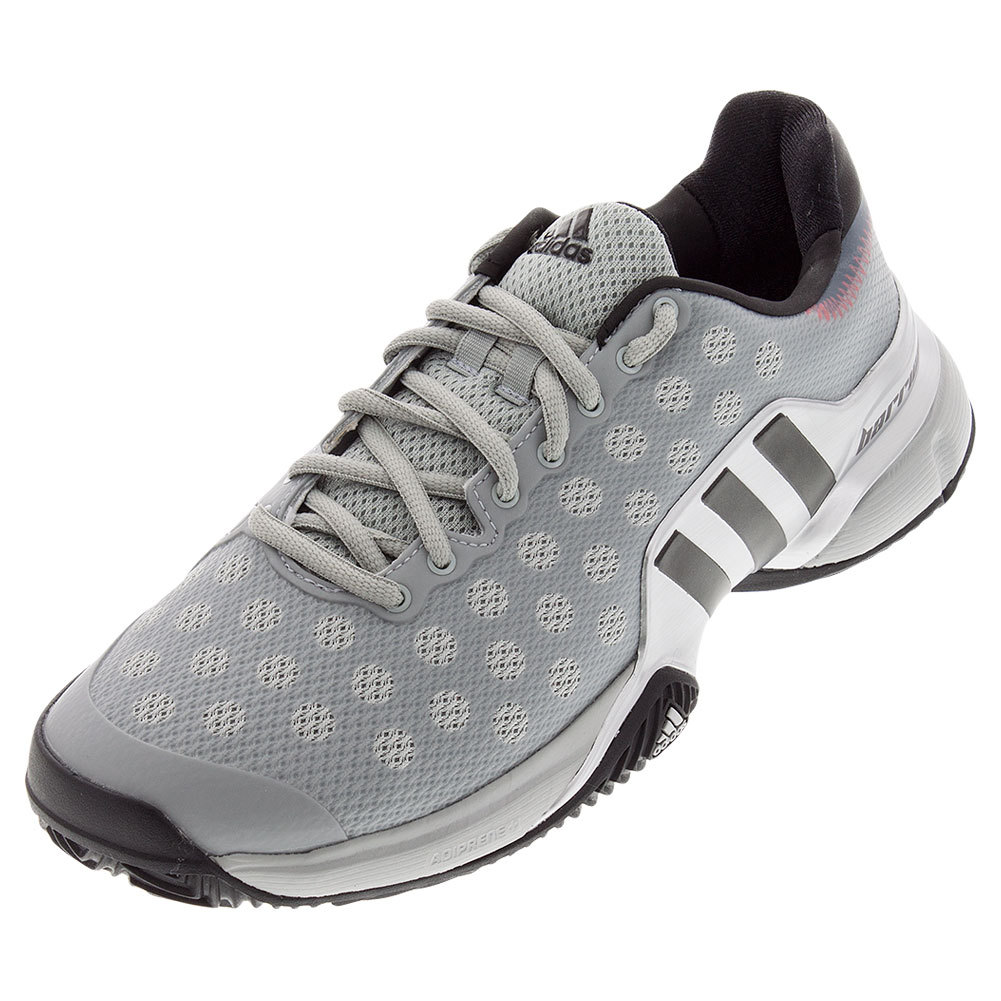 Men's Barricade 2015 Clay Tennis Shoes Gray