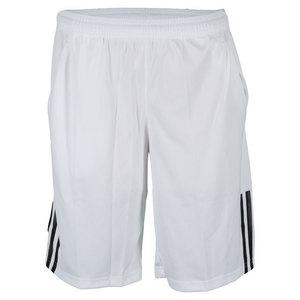Boys` Response Climalite Bermuda Tennis Short White