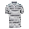 NEW BALANCE Men`s Tournament Striped Tennis Polo White
