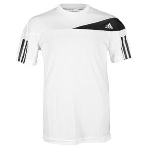 Boys` Response Tennis Tee White