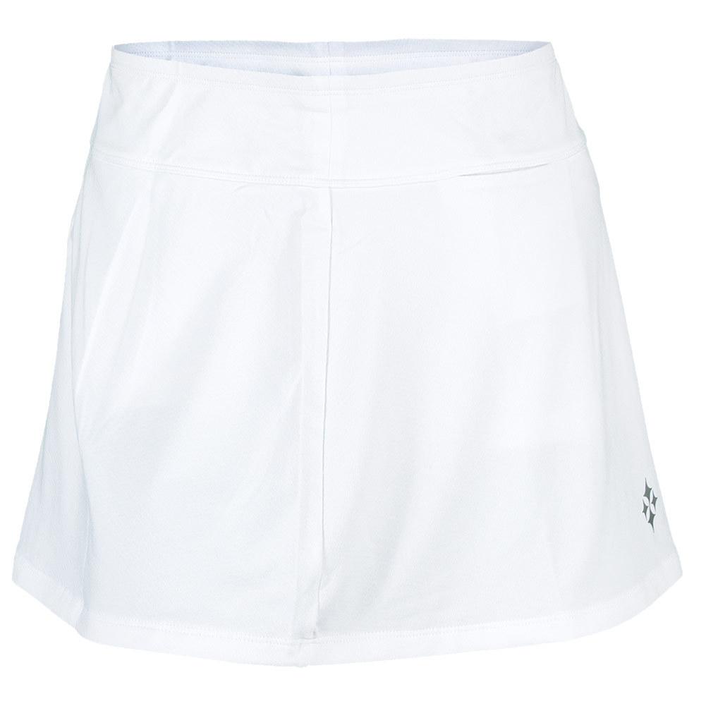 Women's Jacquard Swing Jacquard Swing Tennis Skort White