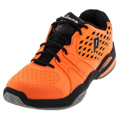 Men`s Warrior Tennis Shoes Orange and Black