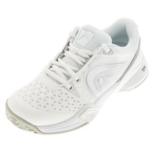 HEAD WOMENS REVOLT PRO TENNIS SHOES WHITE/SIL