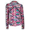 ELEVEN Women`s Crossover Tennis Jacket Ndebele Print