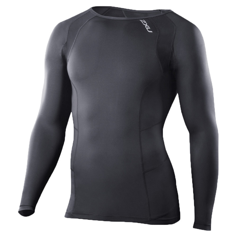 Men's Long Sleeve Compression Top Black