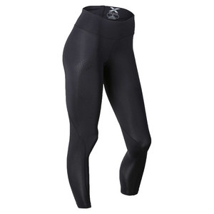 Women`s Mid Rise Compression Tight Black