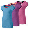 NIKE Girls` Dri-Fit Touch Short Sleeve Top