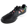 Men`s Roland Garros Y-3 Adizero Feather Tennis Shoes Black and Print by ADIDAS