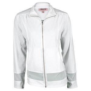 Women`s Winny Long Sleeve Tennis Jacket White