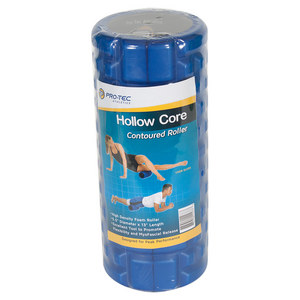 Hollow Core Countoured Foam Roller