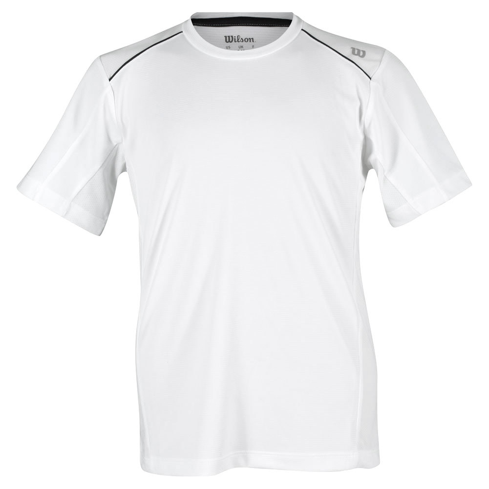 Boys ` Nvision Elite Tennis Crew White