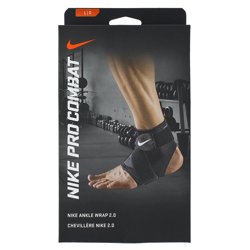 new product cd81b d6b24 NIKE NIKE Pro Combat Ankle Wrap 2.0 Black. Zoom