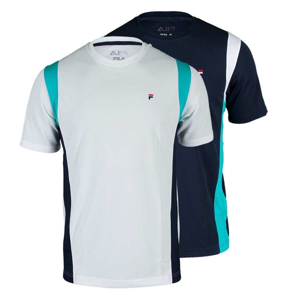 Men`s Heritage Short Sleeve Tennis Crew Neck