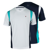 FILA Men`s Heritage Short Sleeve Tennis Crew Neck