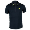 LOTTO Men`s Carter Tennis Polo Deep Navy