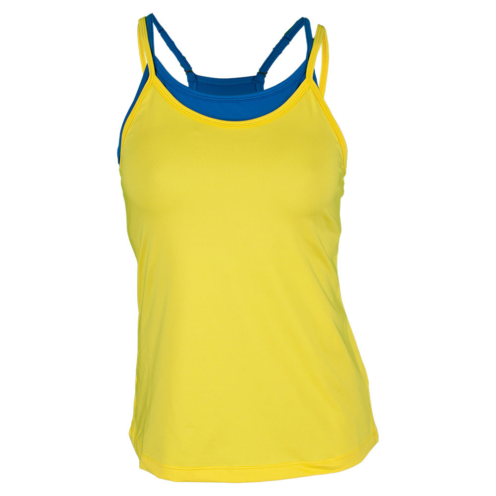 Women`s Spirit Double Layer Tennis Tank