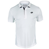 LOTTO Men`s Carter Tennis Polo White
