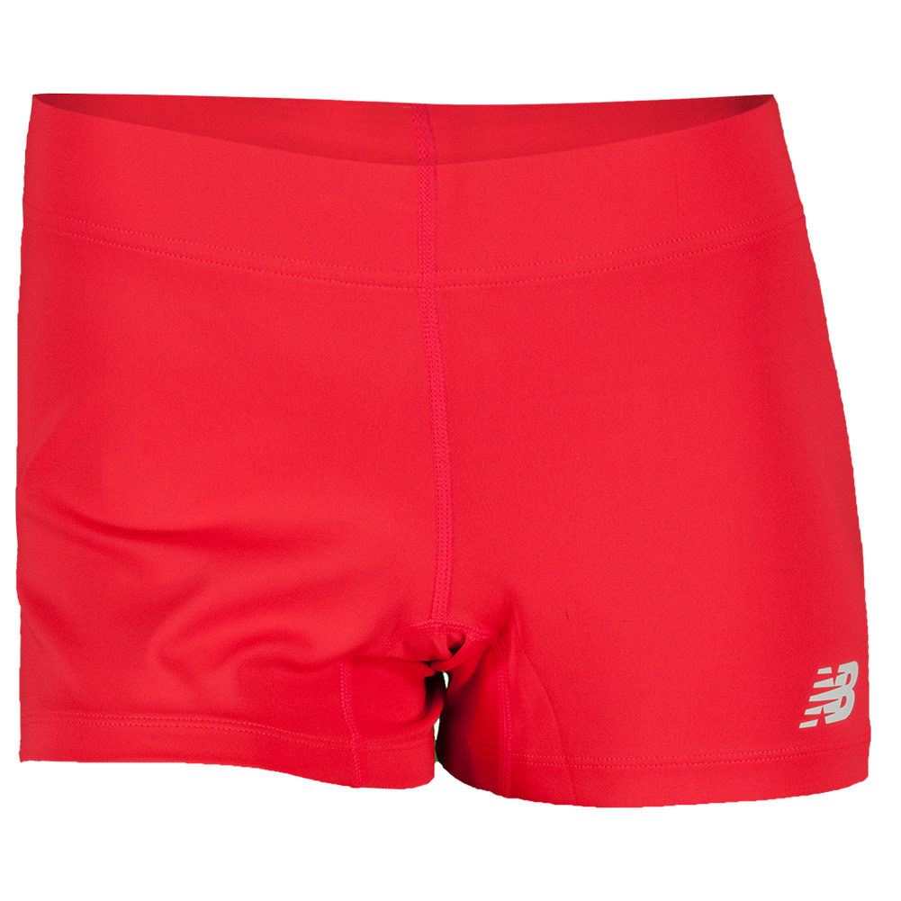 Women's Baseline Tennis Hot Short Bright Cherry
