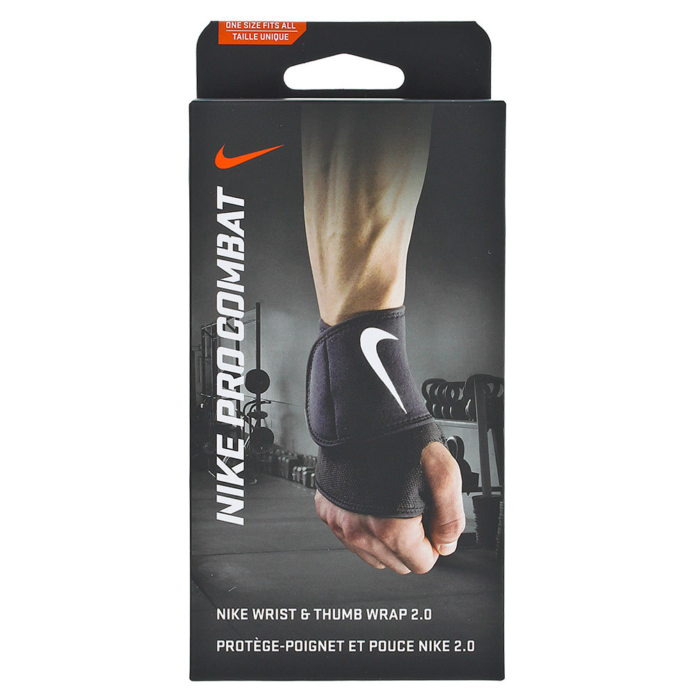 Pro Combat Wrist And Thumb Wrap 2.0 Black