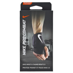 Pro Combat Wrist and Thumb Wrap 2.0 Black