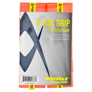 V Tac Tennis Overgrip 12 Pack Neon Orange