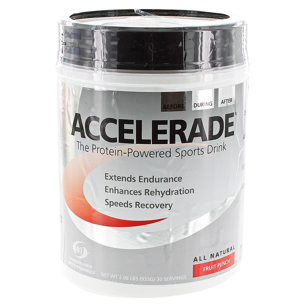 Accelerade All Natural Protein Powered Sports Drink 30 Serve