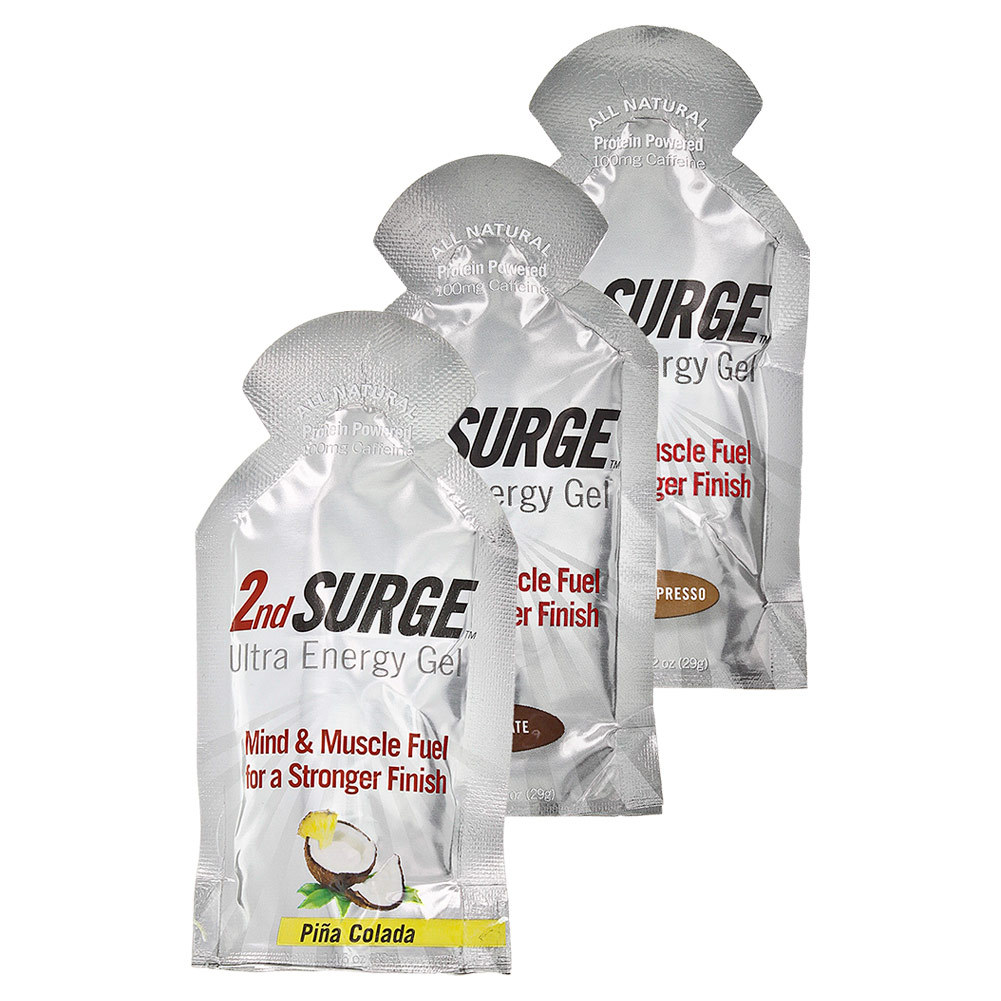 2nd Surge Ultra Energy Gel 100 Mg Caffeine