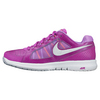 NIKE Women`s Air Vapor Ace Tennis Shoes Fuchsia Flash and White