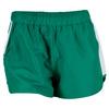 K-SWISS Women`s 66 Tennis Short Dynasty Green and White